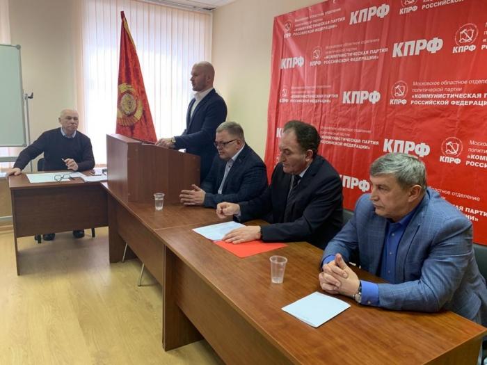 Прошли Совещание и Бюро Московского обкома