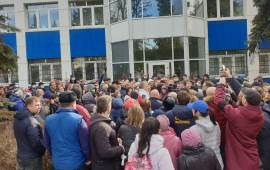 «Маски шоу» в Совхозе им. Ленина