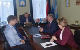 Депутат-коммунист Александр Наумов посетил с рабочим визитом г.о. Зарайск