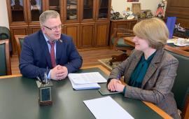 Александр Наумов и Глава Серпухова обсудили обстановку в округе