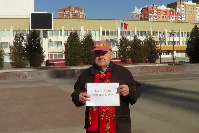 Пикеты в Наро-Фоминске