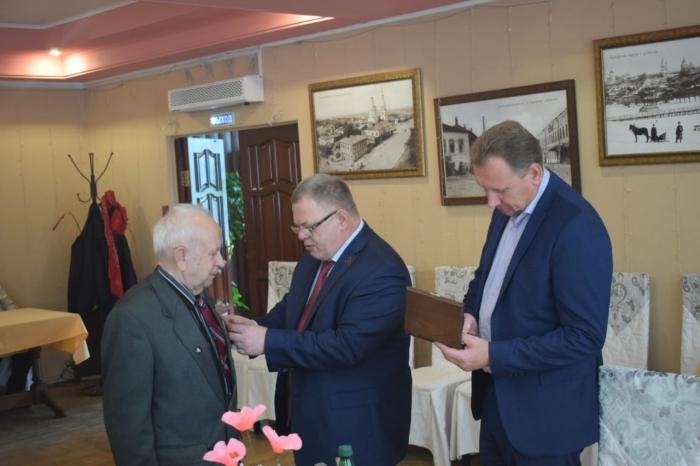 Александр Наумов поздравил с Юбилеем руководителя Зарайского отделения МОО «Дети войны»