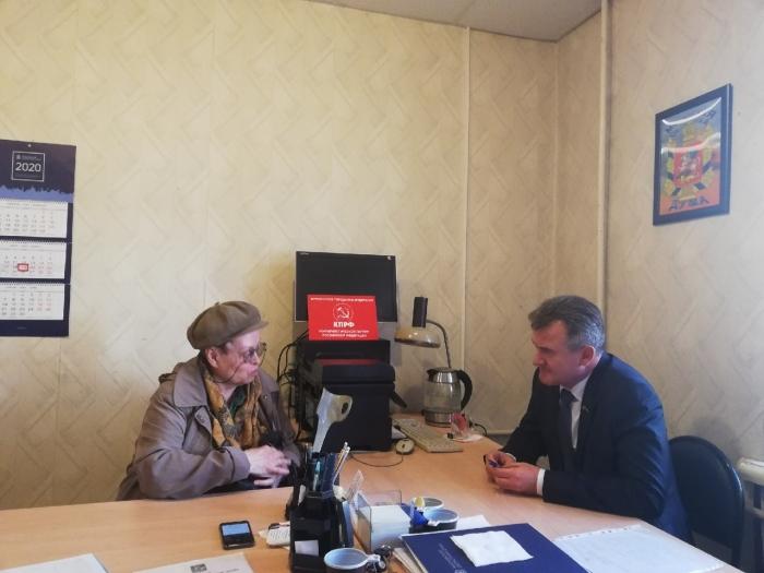 19 марта традиционную встречу с фрязинцами провёл депутат Мособлдумы Василий Мельников