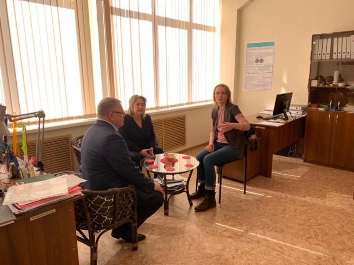 Александр Наумов посетил с рабочим визитом наукоград Пущино