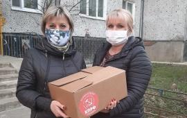 Щелковские коммунисты продолжают помощь