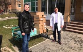 Одинцовские коммунисты помогают медицинским учреждениям