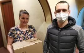 Клинский ГК КПРФ спешит на помощь