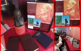 Лобненский ГК КПРФ провел праздничные мероприятия в честь 150-й годовщины В.И. Ленина