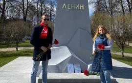 Коммунисты г.о. Королёв почтили память Ленина