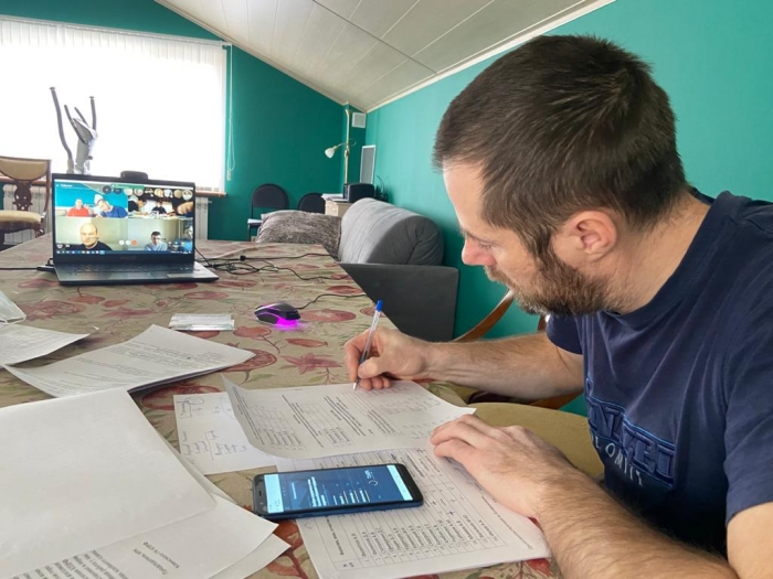 Клинский ГК КПРФ провел он-лайн отчетно-выборную конференцию