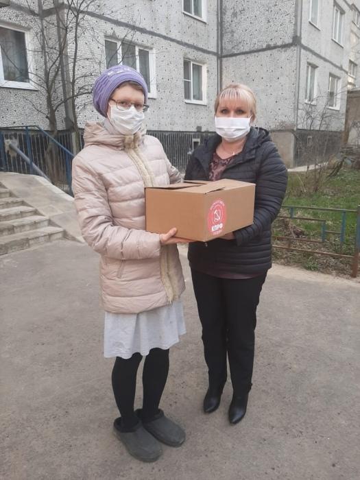 МК КПРФ ежедневно ведёт работу по оказанию помощи в борьбе с коронавирусом - медикам, пожилым людям, многодетным семьям, семьям с потерей кормильца