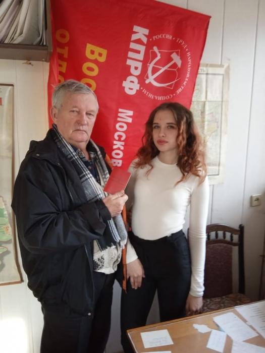 Воскресенские коммунисты рядом с народом!