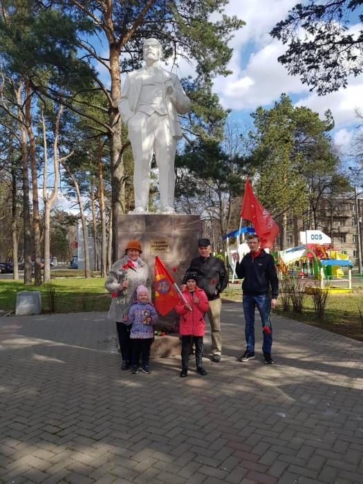 Щёлковские коммунисты отметили 150-летие В.И. Ленина