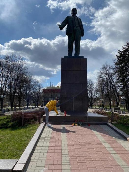 Мытищинские коммунисты почтили память Ленина