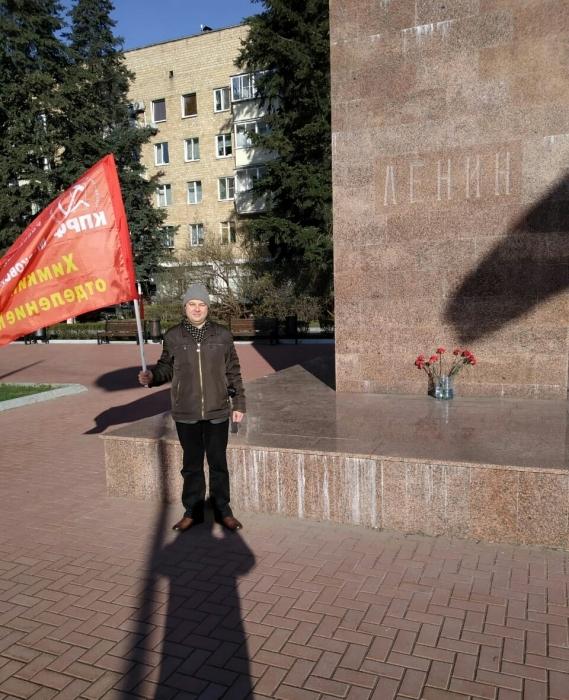 С Лениным в сердце!