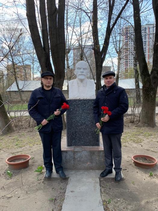 Люберчане отметили юбилей В.И. Ленина