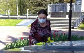 Домодедовские коммунисты провели субботник к 9 мая