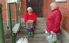 Коммунисты г.о. Озёры поздравляют ветеранов и помогают нуждающимся