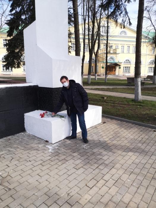 Коммунисты Сергиева Посада отметили день Международной солидарности трудящихся