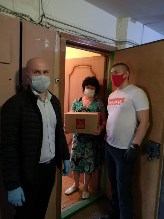 Молодые коммунисты Балашихи ежедневно помогают нуждающимся!