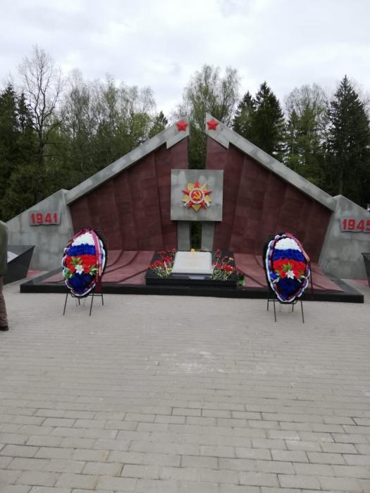 Наро-Фоминский ГК КПРФ поздравил земляков с Днём Победы