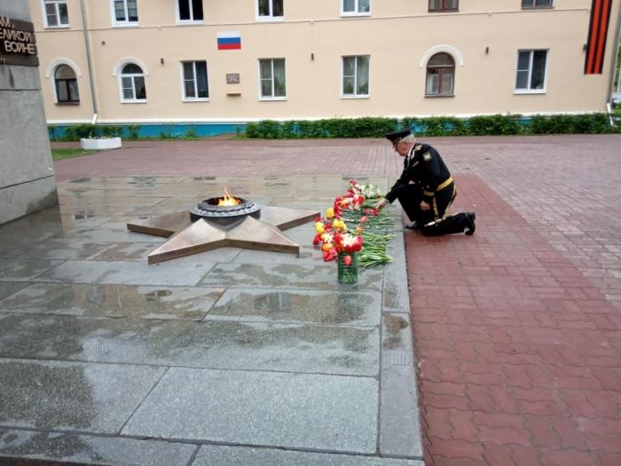 Коммунисты Воскресенска почтили память Советских солдат