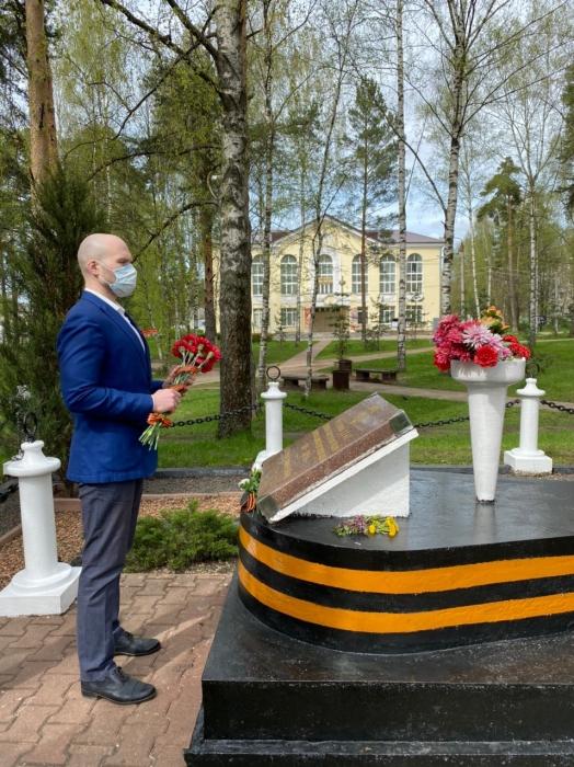 Дмитров помнит своих героев!
