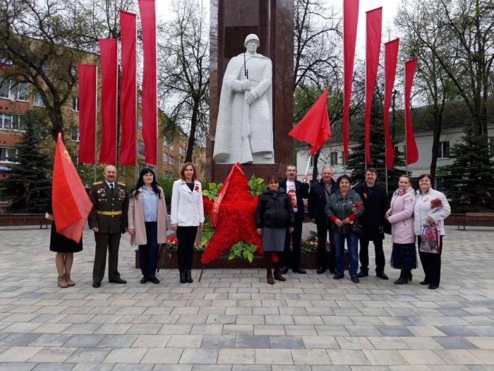 Егорьевские коммунисты почтили память о Советских солдатах