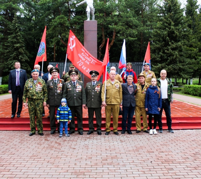 В Озёрах отметили День Победы