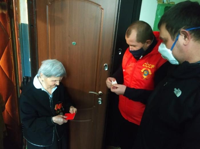 Коммунисты Ленинского ГК КПРФ провели автопробег в День Победы
