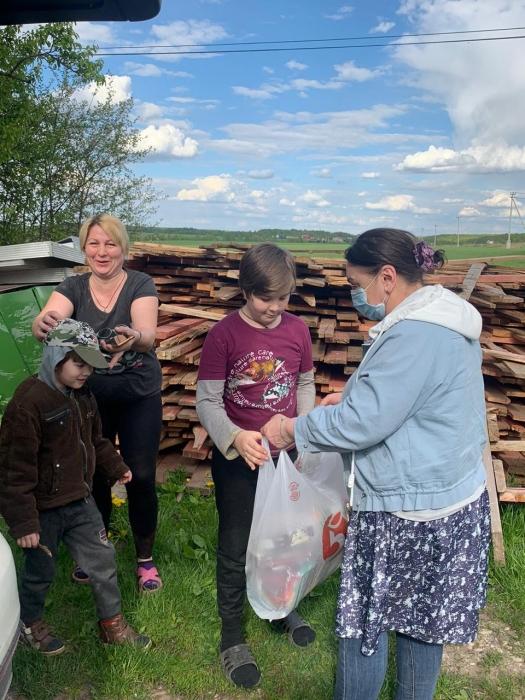 Домодедовские коммунисты продолжают помогать нуждающимся