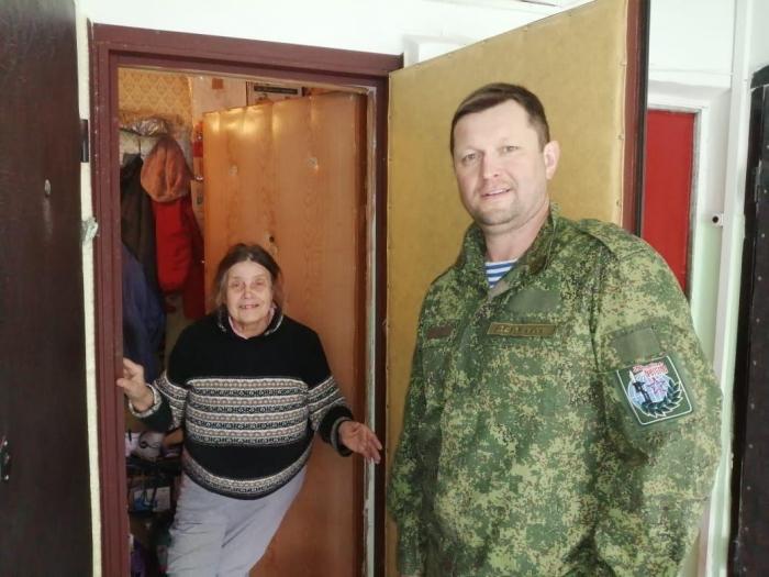 Сергиево-Посадские коммунисты помогают пожилым