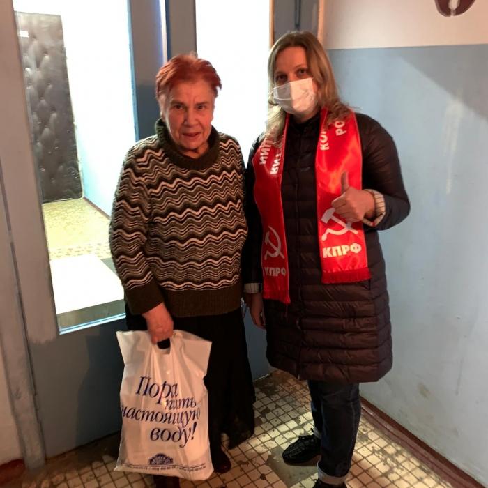 Красногорские коммунисты каждый день помогают нуждающимся