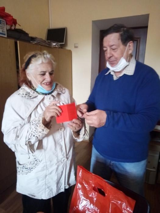 Каширские коммунисты помогают «Детям войны»