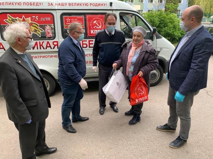 МК КПРФ ежедневно оказывает помощь нуждающимся, в рамках акции «Своих не бросаем»
