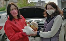 Пушкинские коммунисты помогают жителям