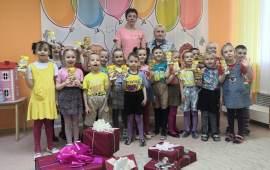 В Орехово-Зуево поздравили детей с детским Днём