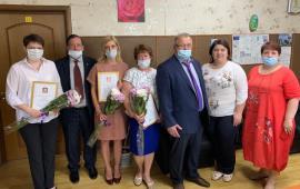 Александр Наумов поздравил социальных работников г.о. Кашира с профессиональным праздником