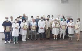 Орехово-Зуевские коммунисты чествуют медицинских работников