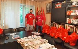 В Реутове коммунисты поздравили «Детей войны» с 75-летием Победы