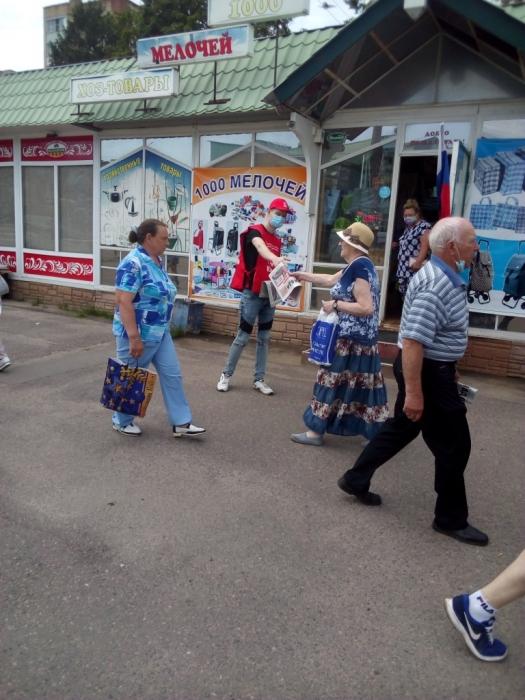 Пикеты в Ступино, Мытищах и Егорьевске