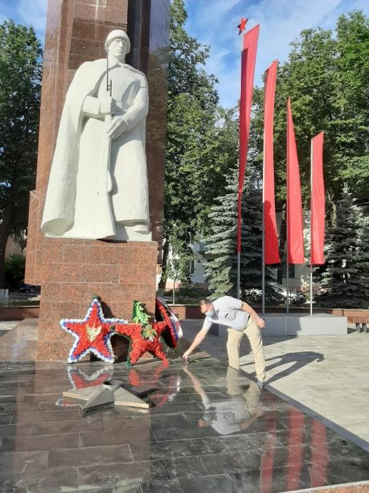 День памяти и скорби в Орехово-Зуево
