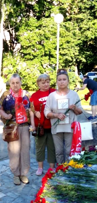 День памяти и скорби в Черноголовке