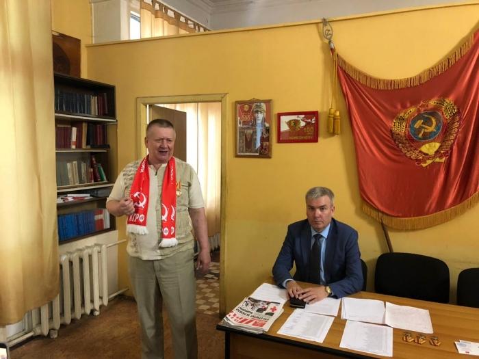 Люберецкие коммунисты: «Власть – трудовому народу!»