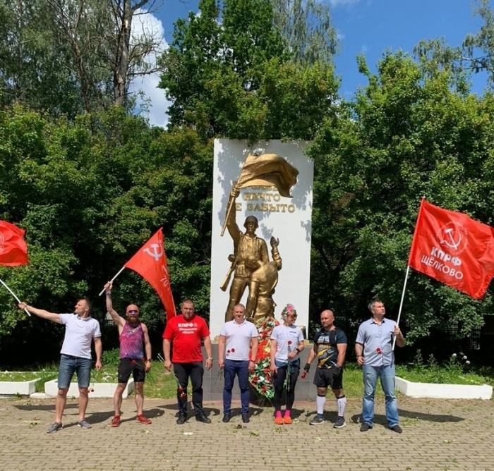 Марафон Победы: Щёлково-Фрязино-Фряново-Щёлково