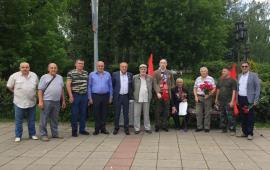 Коммунисты г. Королёв приняли участие в возложении цветов, в День Ветеранов Боевых Действий