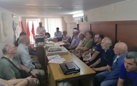 Отчётно-выборная конференция в Дубне