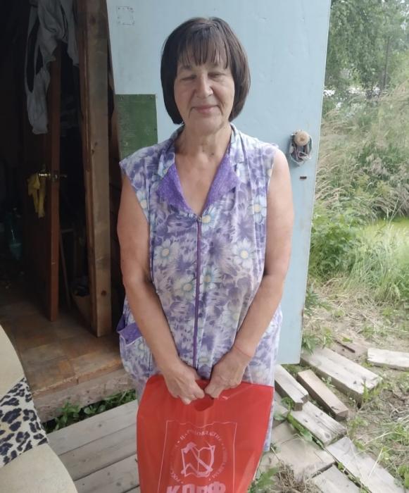 В Дмитровском г.о. продолжается волонтерская работа по доставке продуктовых наборов нуждающимся