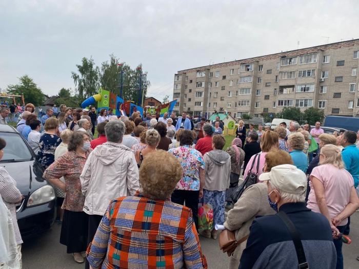 Коммунисты Пушкино провели сход жителей