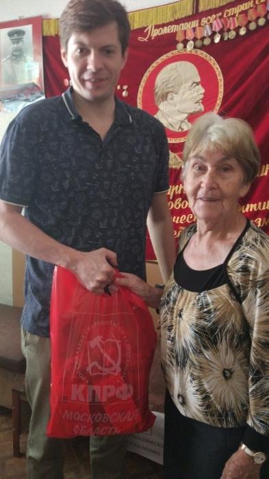 Волоколамские коммунисты продолжают помогать